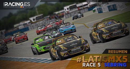 Race 5 #LATISMX5: Sebring