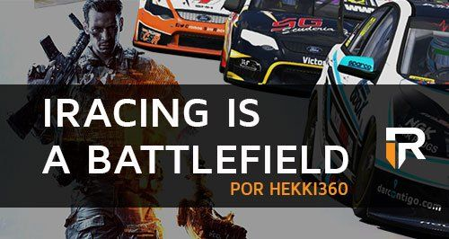 iRacing is a Battlefield, por Heikki360
